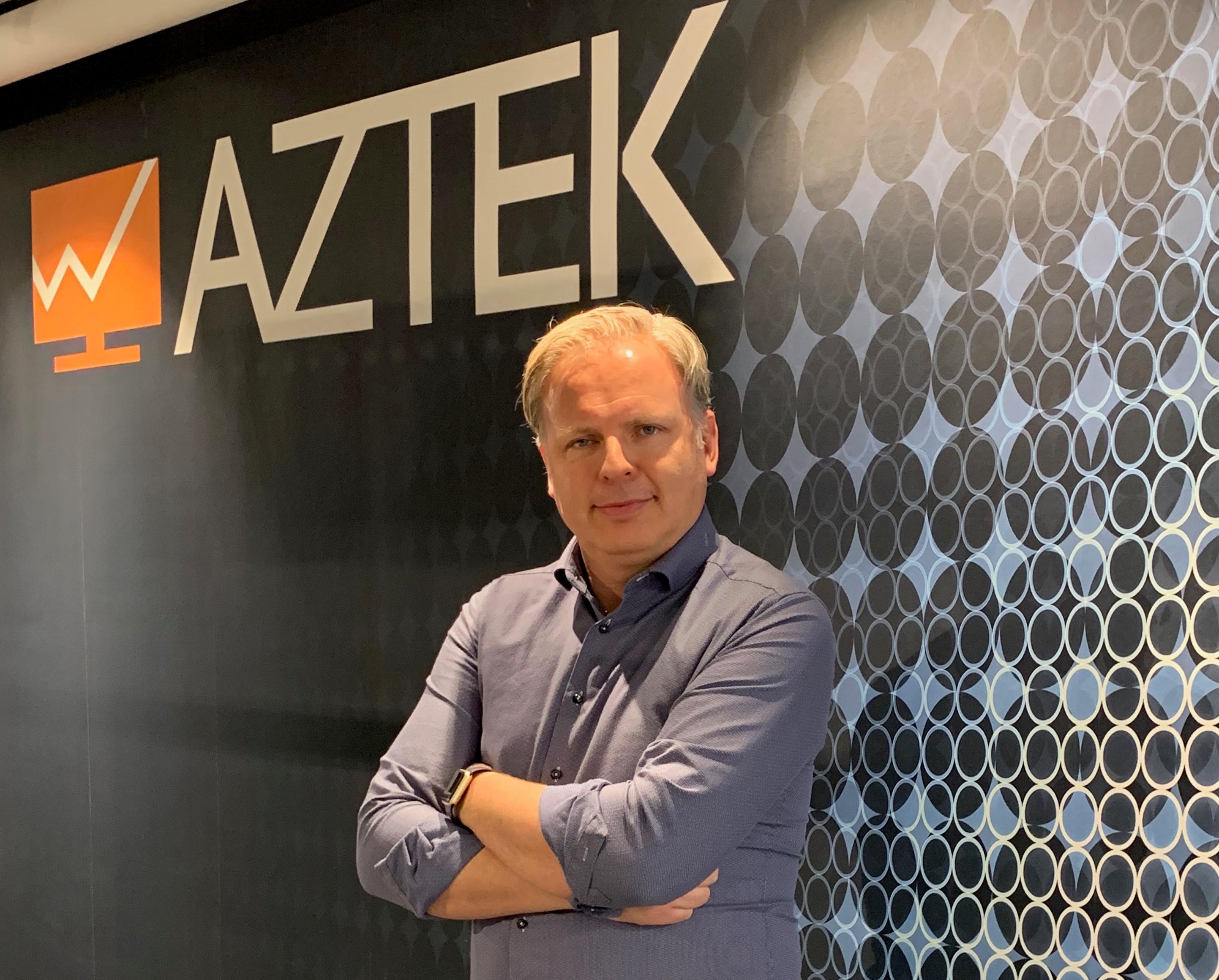Morten Strand ny daglig leder i Aztek